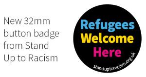 SUtR refugees 32mm badge