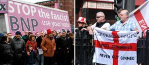 Anti-fascists vs racists